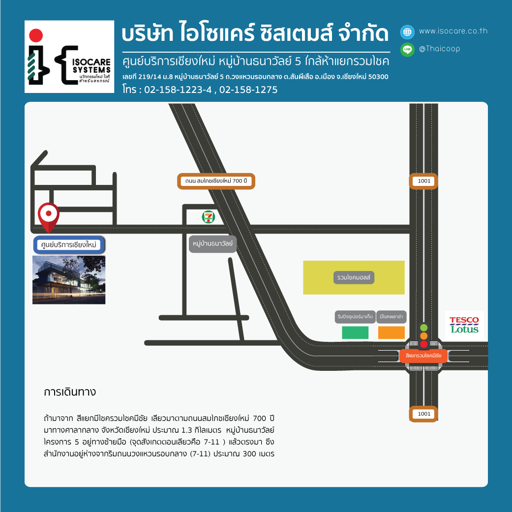 map isc chiengmai square